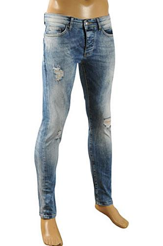 JUST CAVALLI Men's Fitted Jeans #101