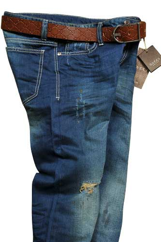 GUCCI Men's Jeans With Belt #70