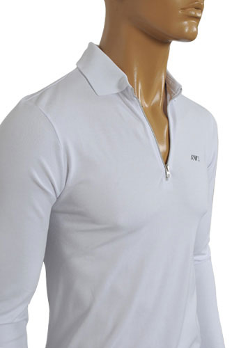 ARMANI JEANS Men's Zip Up Shirt #167