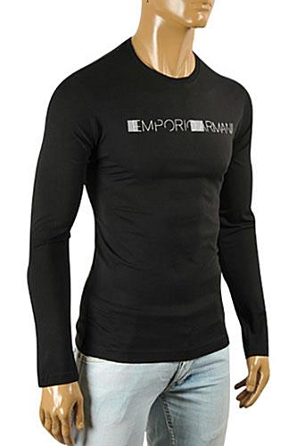 EMPORIO ARMANI Men's Long Sleeve Fitted Shirt #263