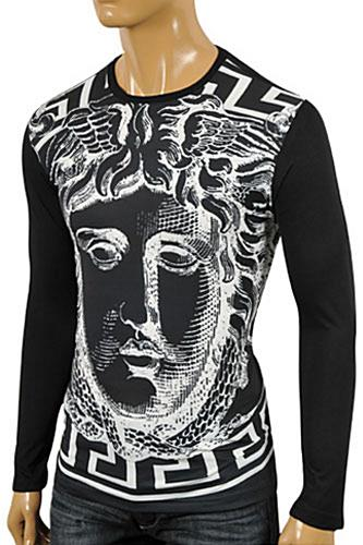 VERSACE Men's Long Sleeve Fitted Shirt #157