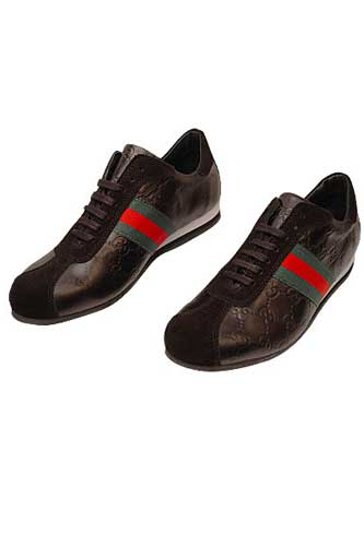 GUCCI Mens Leather Sneakers Shoes #198