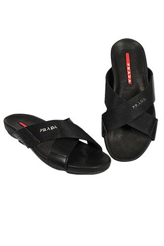 PRADA Men's Leather Sandals #265