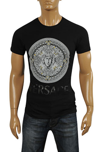 VERSACE Men's Fitted T-Shirt #073