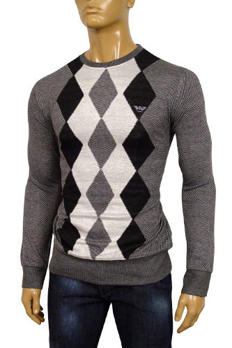 EMPORIO ARMANI Mens Round Neck Sweater #118
