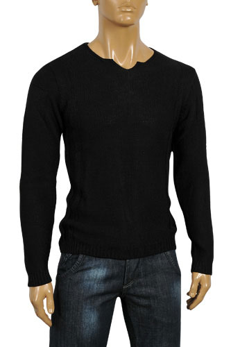 EMPORIO ARMANI Men's Body Cotton Sweater #131