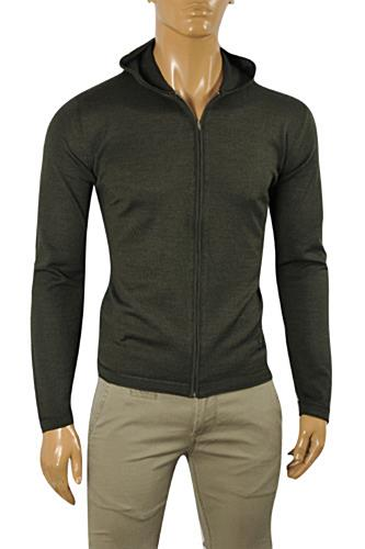 GUCCI Men's Zip Up Hooded Sweater #82