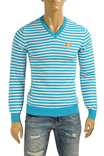 GUCCI Men's V-Neck Knit Sweater #99