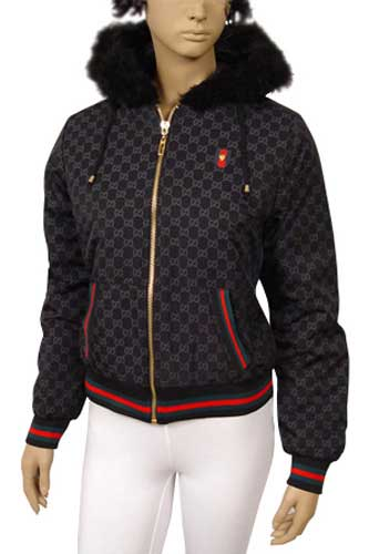 GUCCI Zip Up Warm Hooded Jacket #29