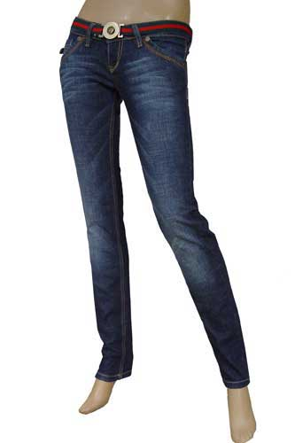 GUCCI Ladies Slim Fit Jeans With Belt #29