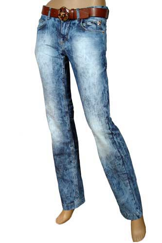 GUCCI Lady's Jeans With Belt #7