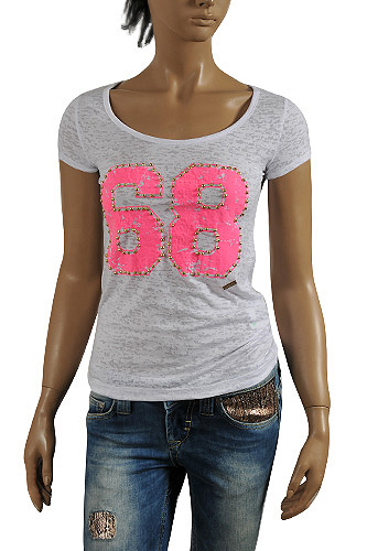 JUST CAVALLI Ladies' Short Sleeve Tee #95