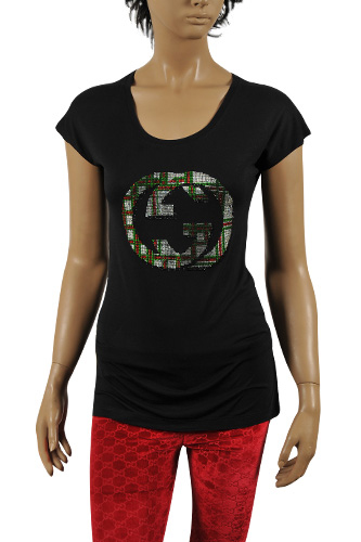 GUCCI Ladies' Short Sleeve Top/Tunic #165
