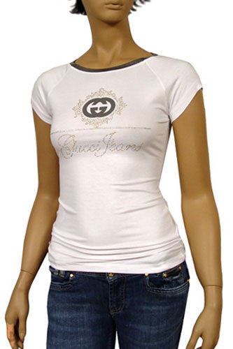 GUCCI Ladies Short Sleeve Tee #37