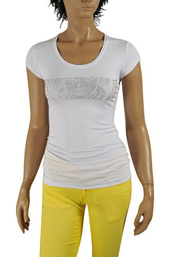 VERSACE Ladies Short Sleeve Tee #80
