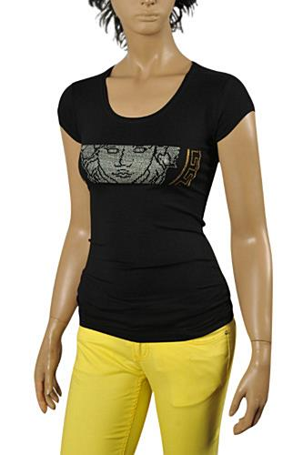 VERSACE Ladies Short Sleeve Tee #81
