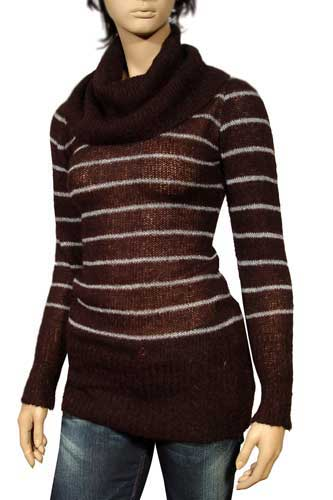 GUCCI Ladies Cowl Neck Long Sweater #7