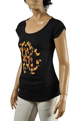 ROBERTO CAVALLI Ladies Short Sleeve Top #139